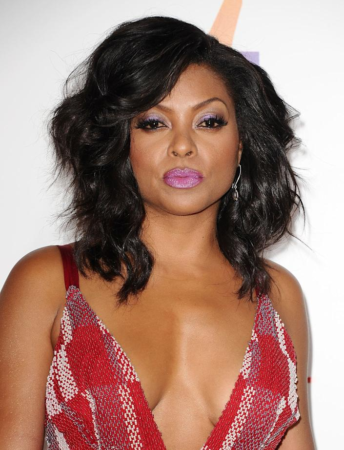 HOLLYWOOD, CA - JUNE 09: Actress Taraji P. Henson attends the premiere of 'Think Like A Man Too' at TCL Chinese Theatre on June 9, 2014 in Hollywood, California. (Photo by Jason LaVeris/FilmMagic)