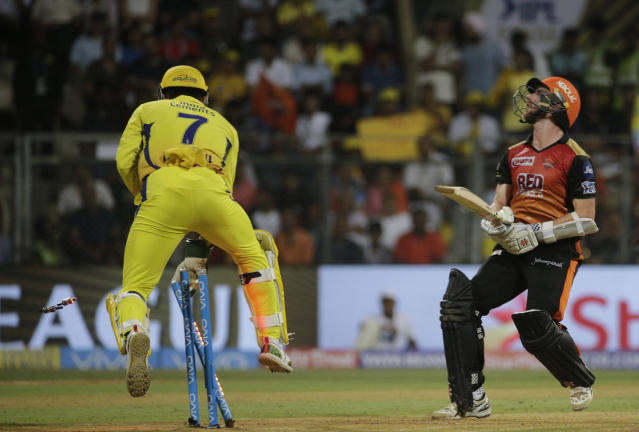 <p>MS Dhoni now holds the record of most stumpings (33) in the history of the IPL. He surpassed Robin Uthappa </p>