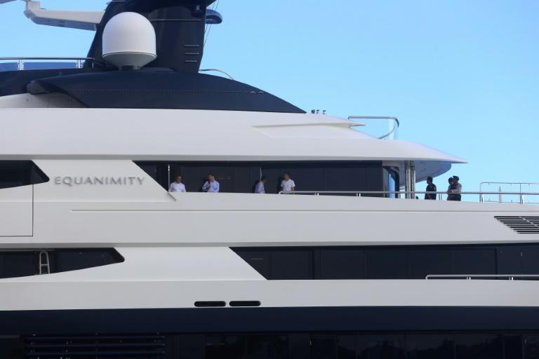 Luxury yacht linked to 1MDB scandal arrives in Malaysia