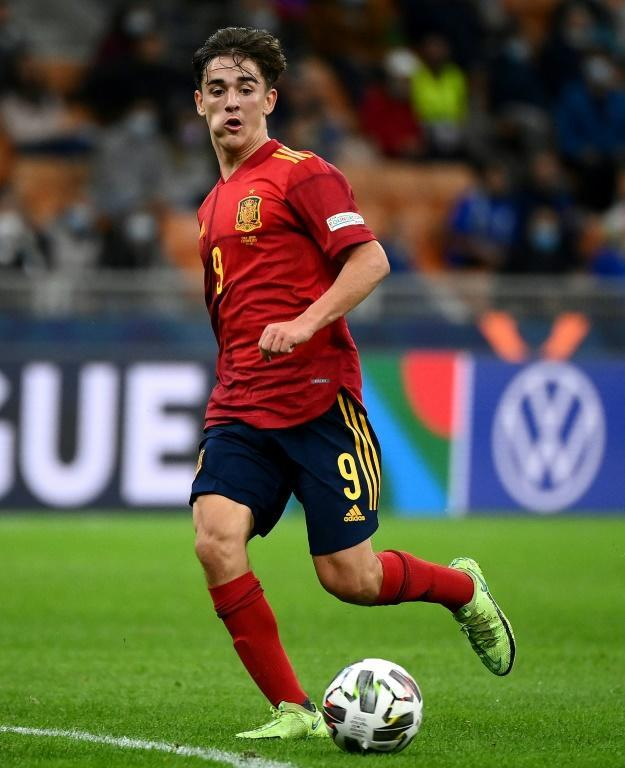 Gavi shone against Italy as Spain's youngest ever player (AFP/FRANCK FIFE)