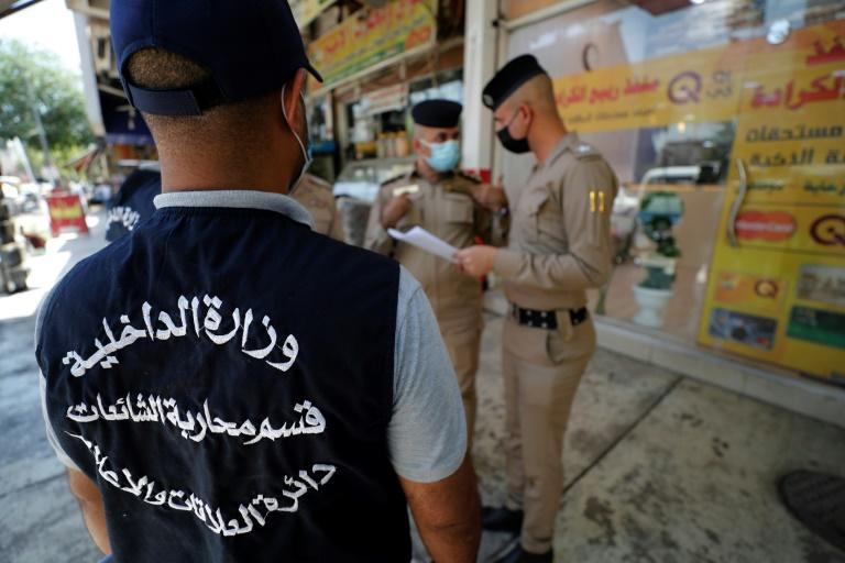 The distribution of leaflets warning against misinformation is part of a grassroots campaign ahead of general elections set for October, around which false news is already swirling among Iraqi internet users