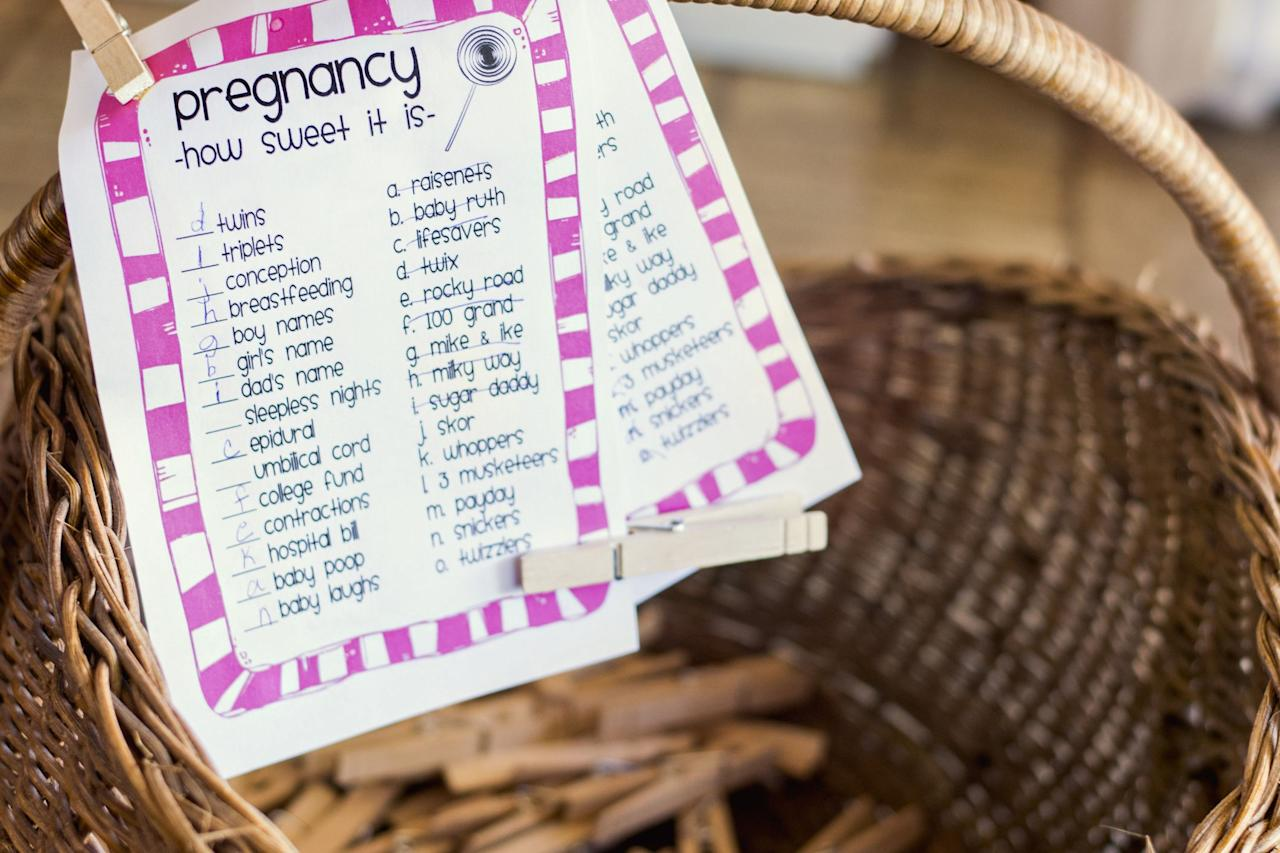 """<p>There's no better way to celebrate your <a href=""""https://www.countryliving.com/shopping/gifts/g25323076/new-mom-gifts/"""" target=""""_blank"""">favorite mom-to-be</a> than with a party that is as memorable and special as she is. But <a href=""""https://www.countryliving.com/entertaining/g742/baby-shower-ideas-0309/"""" target=""""_blank"""">throwing a baby shower</a> can be overwhelming. You scour the world for dozens of <a href=""""https://www.countryliving.com/entertaining/g4505/baby-shower-games/"""" target=""""_blank"""">creative baby shower ideas</a>, and you mix and match for a one-of-a-kind party plan. You choose adorable shower invitations and send them out, select a tasty menu of bite-size treats and <a href=""""https://www.countryliving.com/food-drinks/g2275/baby-shower-cakes/"""" target=""""_blank"""">sweets</a>, set up the celebratory <a href=""""https://www.countryliving.com/food-drinks/g3073/mimosa-recipe/"""" target=""""_blank"""">mimosa bar</a>, and purchase the <a href=""""https://www.countryliving.com/shopping/gifts/news/g4835/birthday-gifts-for-mom/"""" target=""""_blank"""">perfect gift</a>. Up next: Choosing just the right shower games! With a mix of family and friends joining together to fete the lucky mom-to-be, it's important to offer guests a fun and natural opportunity to break the ice and casually interact. So kick off the festivities with a baby shower game that gets everybody talking, exchanging personal stories, and sharing lots of laughs. From a raucous round of Baby Shower Bingo to a hands-on onesie craft that will channel everyone's inner artist, these 20 baby shower games are quick and easy for you, as the hostess, to pull together. There are easy-to-create DIY shower game ideas, downloadable and printable shower games, and ready-to-go shower game kits that are just a quick click away. And not a single one will embarrass your favorite mom-to-be or any of your shower guests. We promise!</p>"""