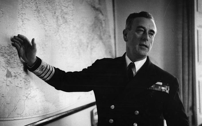 Lord Mountbatten in 1956  - Bert Hardy/Picture Post/Hulton Archive/Getty Images