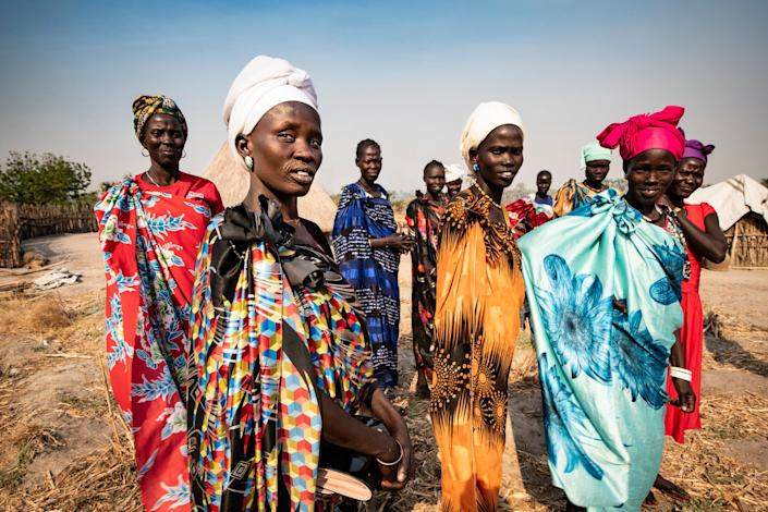 Much of South Sudan's population of 11 million is anxiously awaiting the outcome of peace talks in Juba - Simon Townsley/The Telegraph