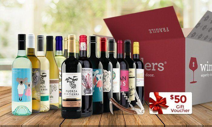 "With $50 gift voucher and free corkscrew. Get it <a href=""https://www.groupon.com/deals/gg-wine-insiders-33"" target=""_blank"">here</a>."