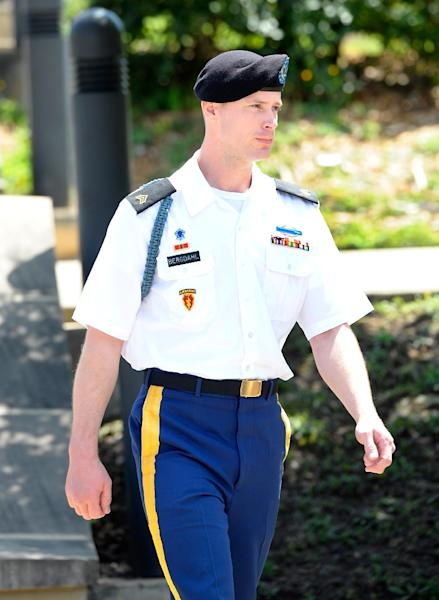 Among those hoping for a pardon before President Barack Obama leaves office is Bowe Bergdahl, held captive by the Taliban now facing court-martial for desertion (AFP Photo/SARA D. DAVIS)