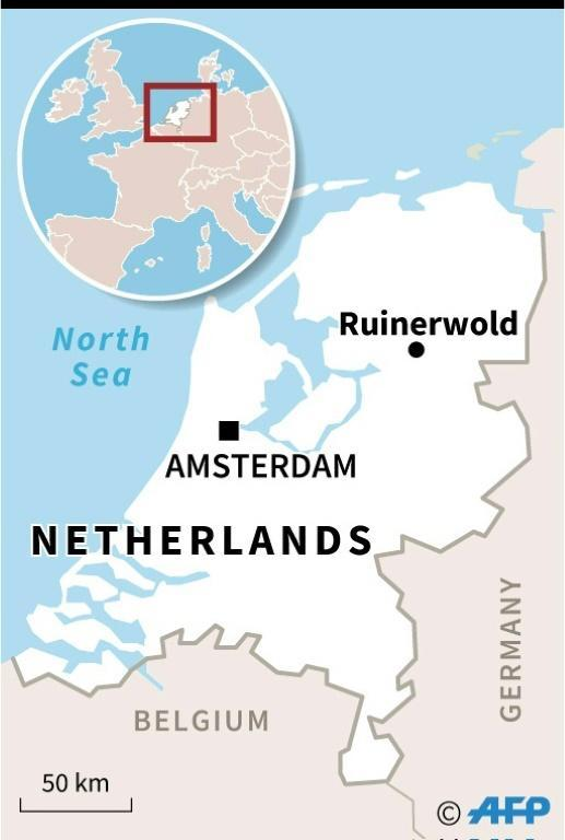 The village of Ruinerwold where the family were discovered is in a northern province of the Netherlands