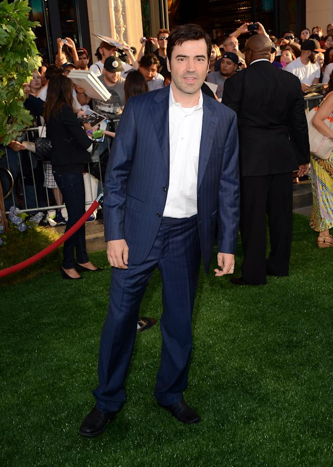 """HOLLYWOOD, CA - AUGUST 06:  Actor Ron Livingston arrives at the premiere of Walt Disney Pictures' """"The Odd Life of Timothy Green"""" at the El Capitan Theatre on August 6, 2012 in Hollywood, California.  (Photo by Jason Merritt/Getty Images)"""
