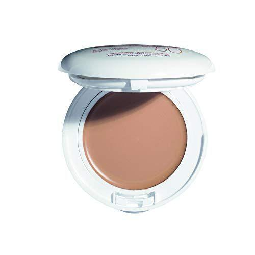 """<p><strong>Avène</strong></p><p>amazon.com</p><p><strong>$36.00</strong></p><p><a href=""""https://www.amazon.com/dp/B001NF2A3G?tag=syn-yahoo-20&ascsubtag=%5Bartid%7C2141.g.26902204%5Bsrc%7Cyahoo-us"""" rel=""""nofollow noopener"""" target=""""_blank"""" data-ylk=""""slk:SHOP NOW"""" class=""""link rapid-noclick-resp"""">SHOP NOW</a></p><p>On-the-go touch ups just got easier, thanks to Avène's portable tinted sunscreen.<strong> Ideal for sensitive or redness-prone complexions</strong>, this cream-to-powder formula is supercharged with titanium dioxide and zinc oxide to protect against UVA and UVB rays, along with vitamin E and squalane to give skin a dewy sheen. The best part? It won't take up too much room in your bag—so you have no excuse to not reapply.</p>"""
