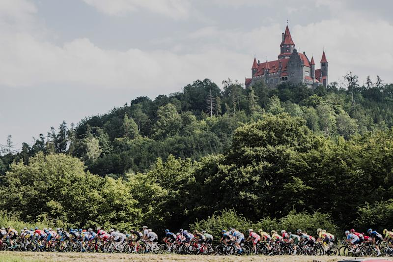 Czech Tour 2020 stage 2 finished with fast circuits in Unicov