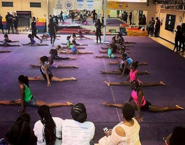 PHOTO: Brown Girls Do Gymnastics, an advocacy group for girls of color in the sport, works to create inclusive and diverse gyms. (Derrin Moore/Brown Girls Do Gymnastics)