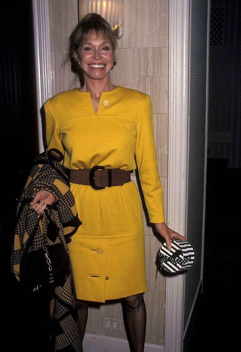 <p>Moore attends an awards ceremony at the Waldorf-Astoria Hotel in New York City.</p>