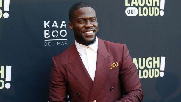 PHOTO: Kevin Hart poses at Kevin Hart's 'Laugh Out Loud' new streaming video network launch event in Beverly Hills, Calif., Aug. 3, 2017. (Danny Moloshok/Invision/AP)