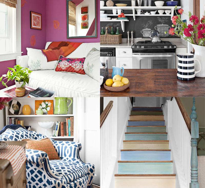 Home tour: A cottage shows you when to restrain color, when to cut loose collage fixed
