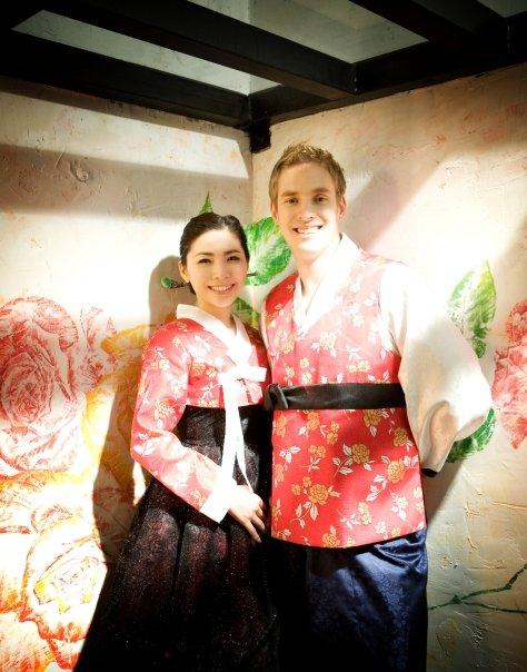 Riley Maw married his Korean wife in 2008. He loves living in Seoul and doesn't plan on returning to Canada. Supplied photo.