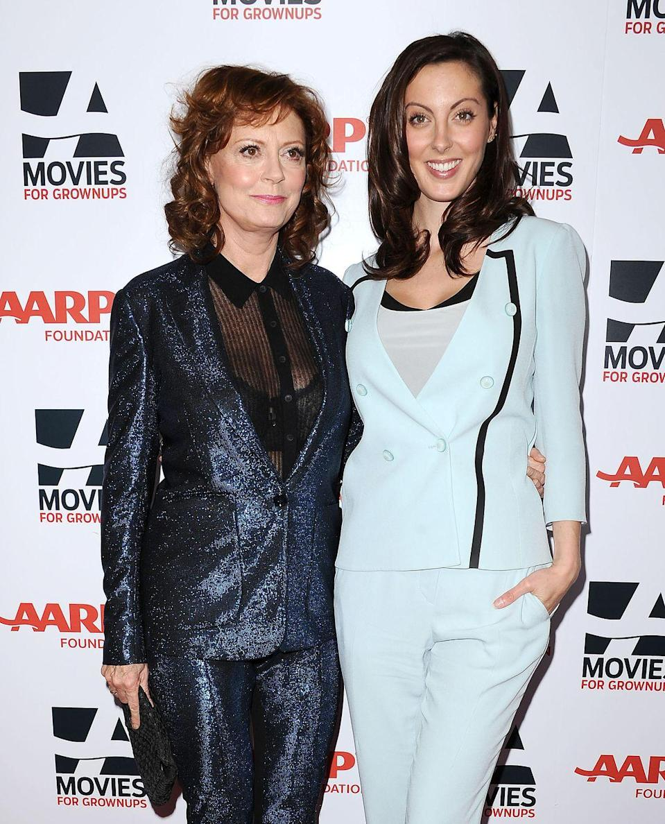 <p>Sarandon's three children, Eva Amurri Martino, 34, Jack Henry Robbins, 30, and Miles Robbins, 27, have all chosen a career in the entertainment industry. But her daughter is the only one to follow her into acting. The mother-daughter duo have appeared in movies together, like <em>The Banger Sisters</em>, <em>Dead Man Walking</em>, and <em>Mothers and Daughters</em>. </p>