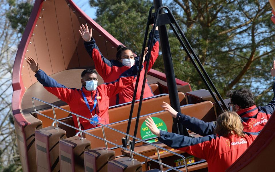 Masks are now required on all rides - LEGOLAND