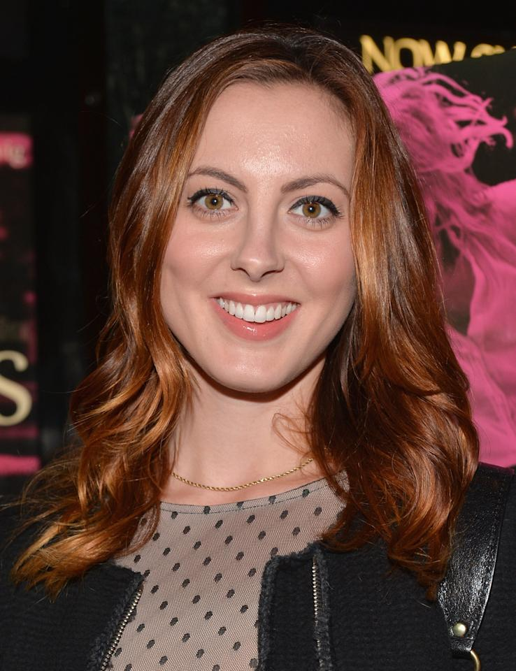 """LOS ANGELES, CA - MAY 01:  Actress Eva Amurri Martino attends a screening of IFC Films' """"Frances Ha"""" at the Vista Theatre on May 1, 2013 in Los Angeles, California.  (Photo by Alberto E. Rodriguez/Getty Images)"""