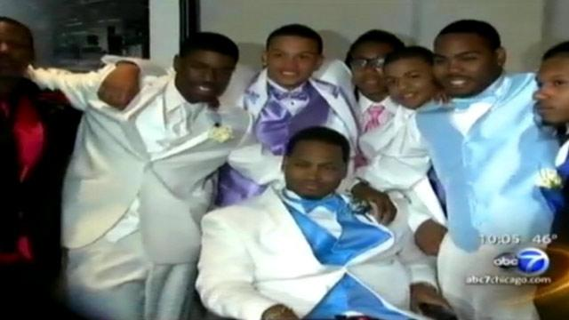 Chicago HS Student Paralyzed in Shooting Goes to Prom