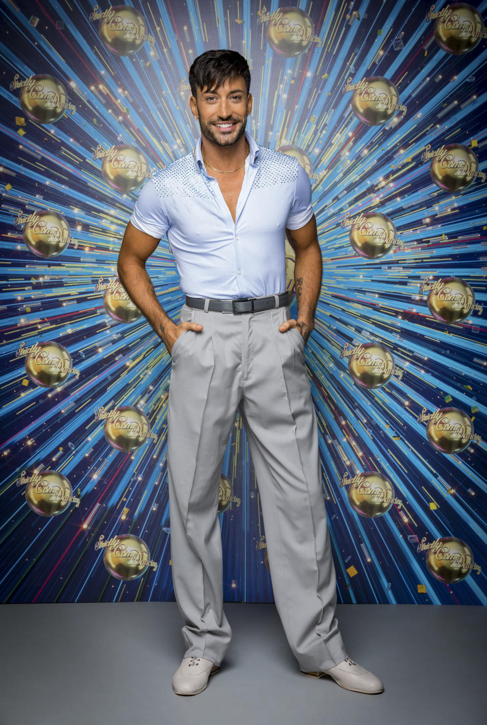 The Strictly Come Dancing professional dancers Giovanni Pernice - (C) BBC - Photographer: Guy Levy