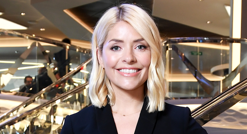 Holly Willoughby visited Downton Abbey on Thursday morning [Photo: Getty Images]
