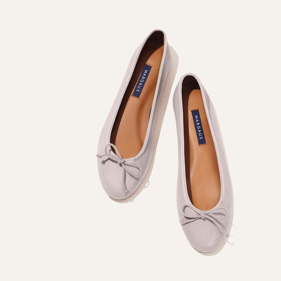 <p>These classic and chic <span>Margaux Demi Flats</span> ($178) are always a good choice.</p>