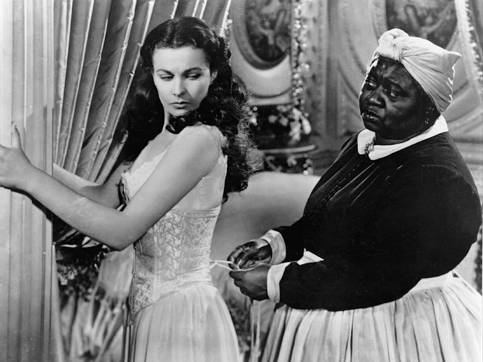Vivien Leigh and Hattie McDaniel in 'Gone With the Wind'Selznick/Mgm/Kobal/Shutterstock