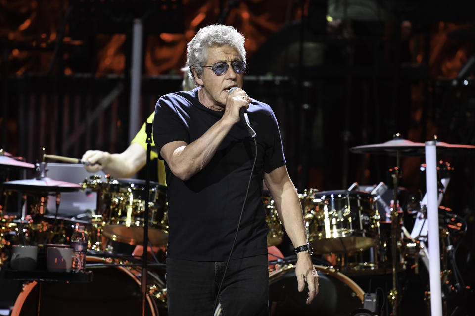 SUNRISE, FL- SEPTEMBER 20: Roger Daltrey performs with The Who: Moving On! Tour at the BB&T Center in Sunrise, Florida, September 20, 2019. (Photo by Ron Elkman/USA TODAY NETWORK/Sipa USA)