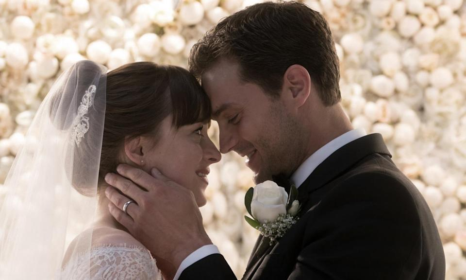 <p>If you'd already dedicated four hours of your life to the first two, you weren't going to miss out on the third adaptation of EL James's bonkbuster, which wrapped up with a wedding and a sigh of relief from Dakota Johnson and Jamie Dornan. </p>