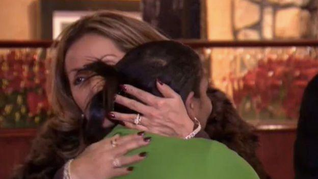Regular customers have been dropping by Anita's to give Ms Carter cash and hugs. Source: ABC 7