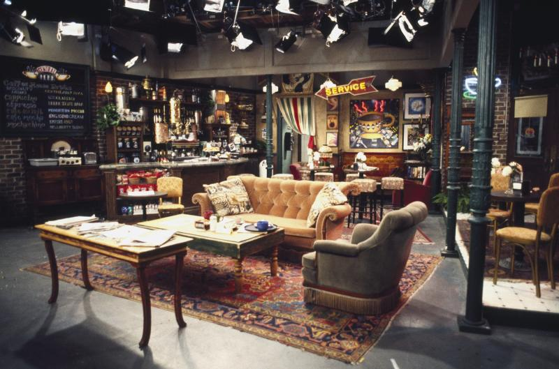 Friends' Central Perk couch coming to landmarks worldwide