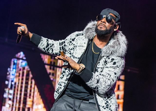 R. Kelly performs at Little Caesars Arena in Detroit on Feb. 21. (Photo: Scott Legato/Getty Images)