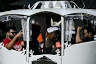 Tourism to Ukraine is picking back up, but the climb is slow (AFP/Sergei GAPON)