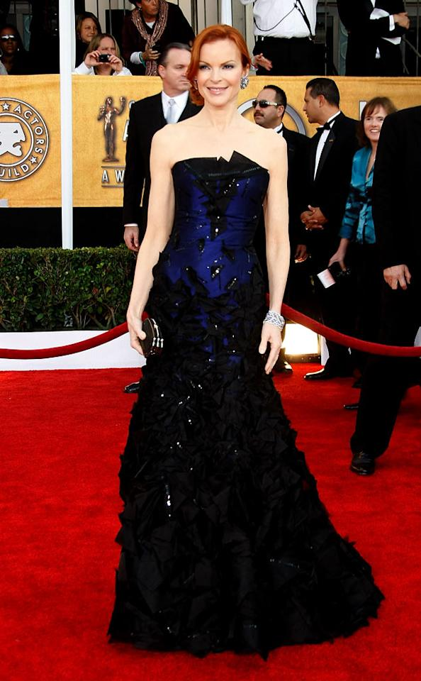 """<a href=""""/marcia-cross/contributor/298373"""">Marcia Cross</a> arrives at the <a href=""""/the-15th-annual-screen-actors-guild-awards/show/44244"""">15th Annual Screen Actors Guild Awards</a> held at the Shrine Auditorium on January 25, 2009 in Los Angeles, California."""