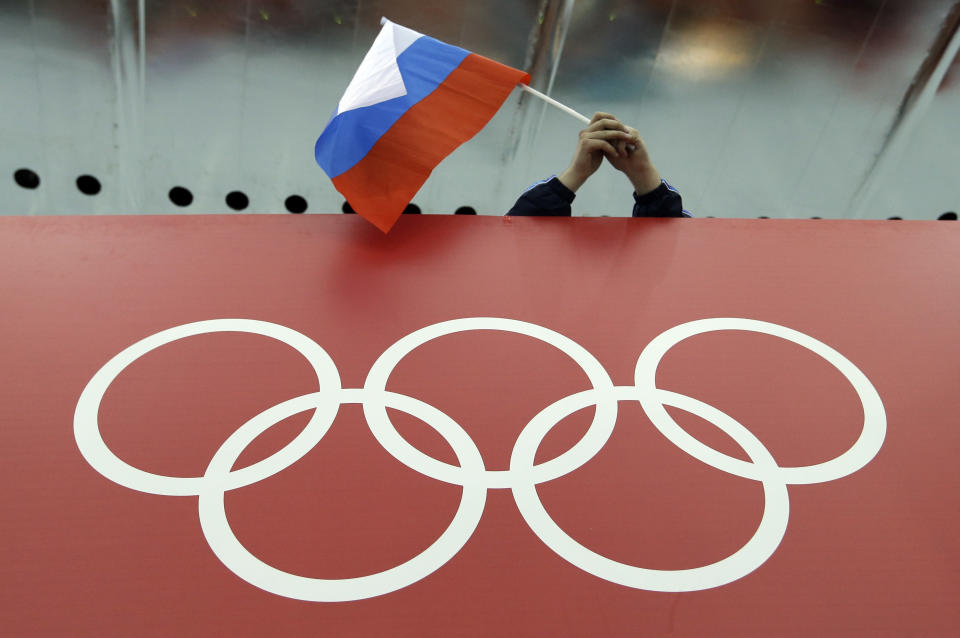 No Olympics for Russia. (AP)