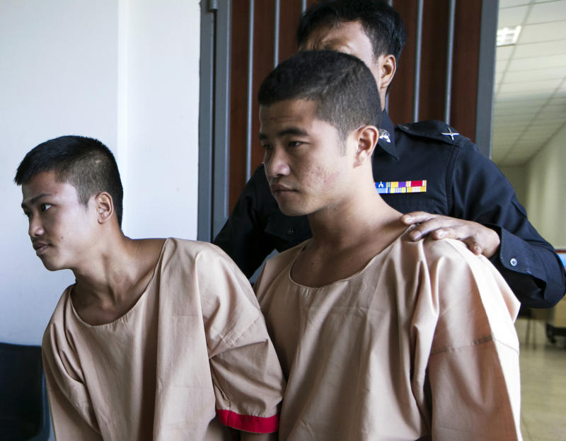 Thailand Murder Backpackers