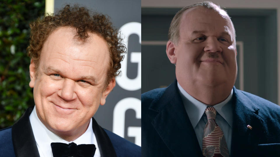 Reilly spent four hours in the make-up chair and worse a large bodysuit to portray legendary comedian Oliver Hardy in biopic <em>Stan & Ollie</em>. (Credit: George Pimentel/WireImage/eOne)