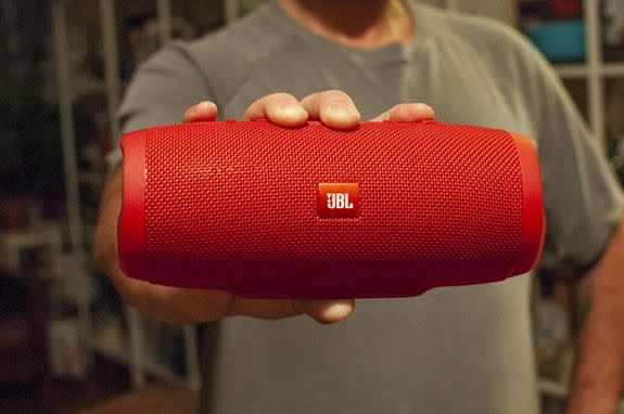 The JBL Charge 3 can drop the bass, but won't wow you when the