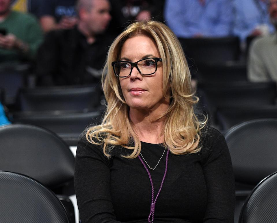 Lakers management plans to ask high-level employees to defer part of their salaries. (Kevork Djansezian/Getty Images)