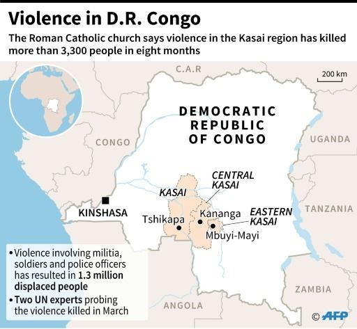 UN to send experts to probe DR Congo violence