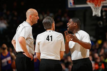 Referees  and the NBA have agreed to a new seven-year deal. (Getty)
