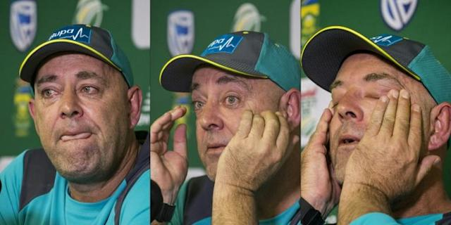 Darren Lehmann who stood down as Australia coach in the wake of the 2018 ball-tampering scandal is to take charge of the Leeds-based team in next year's The Hundred tournament (AFP Photo/WIKUS DE WET)