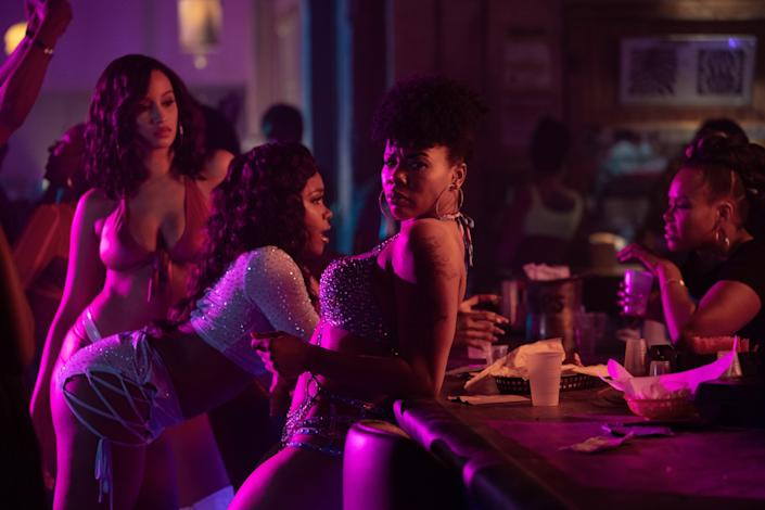 """P-Valley,"" premiering Sunday on Starz, peers inside a Southern strip club. <span class=""copyright"">(Jessica Miglio)</span>"