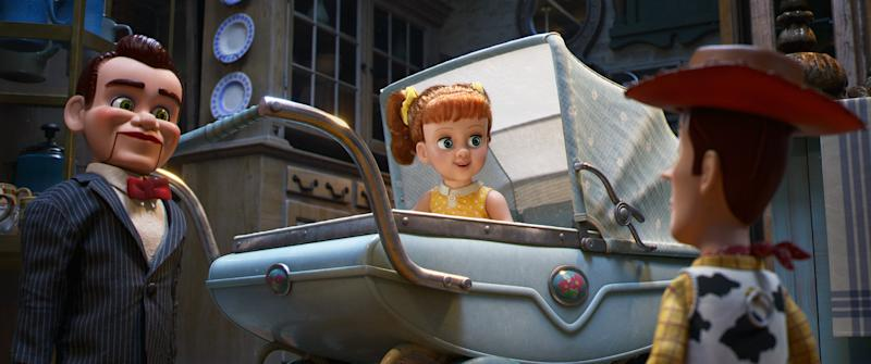 Gabby Gabby (Hendricks) isn't the villain she appears to be in 'Toy Story 4' (Photo: Walt Disney Studios Motion Pictures / courtesy Everett Collection)