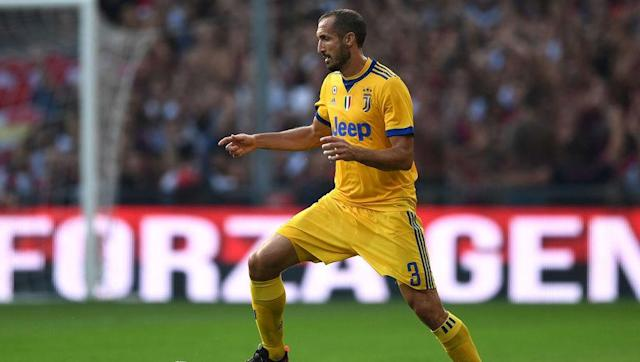 <p>Giorgio Chiellini has been at Juventus for 12 years and has made over 350 appearances for the Old Lady in a glittering career with the Serie A side. </p> <br><p>The Italian centre-back has won six Serie A titles during his time in Turin and following the departure of Leonardo Bonucci to domestic rivals AC Milan in the 2017 summer transfer window, Chiellini will be more important than ever to Juventus' success. </p>