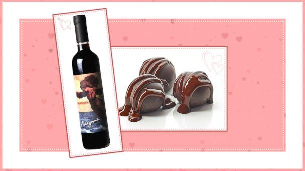 PHOTO: Chocolate and Wine Pairings for Valentines Day: Pair 8 (ABC News Photo Illustration)