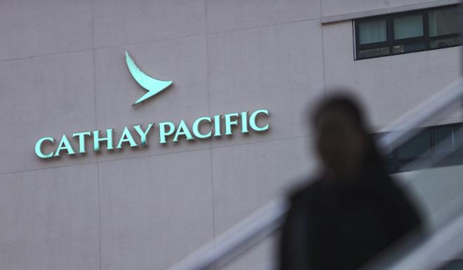 Cathay Pacific has seen a sharp drop in demand for travel in and out of Hong Kong since the protest crisis started in June. Photo: Winson Wong