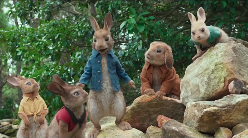 Parents are calling to boycott the new Peter Rabbit movie. Photo: Youtube