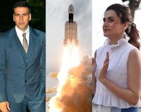 B-Town praises ISRO scientists for successful 'Chandrayaan 2' launch