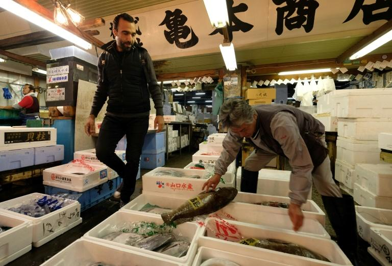 French chef Lionel Beccat says it took him several years to build up relationships with Tsukiji's fishmongersMore